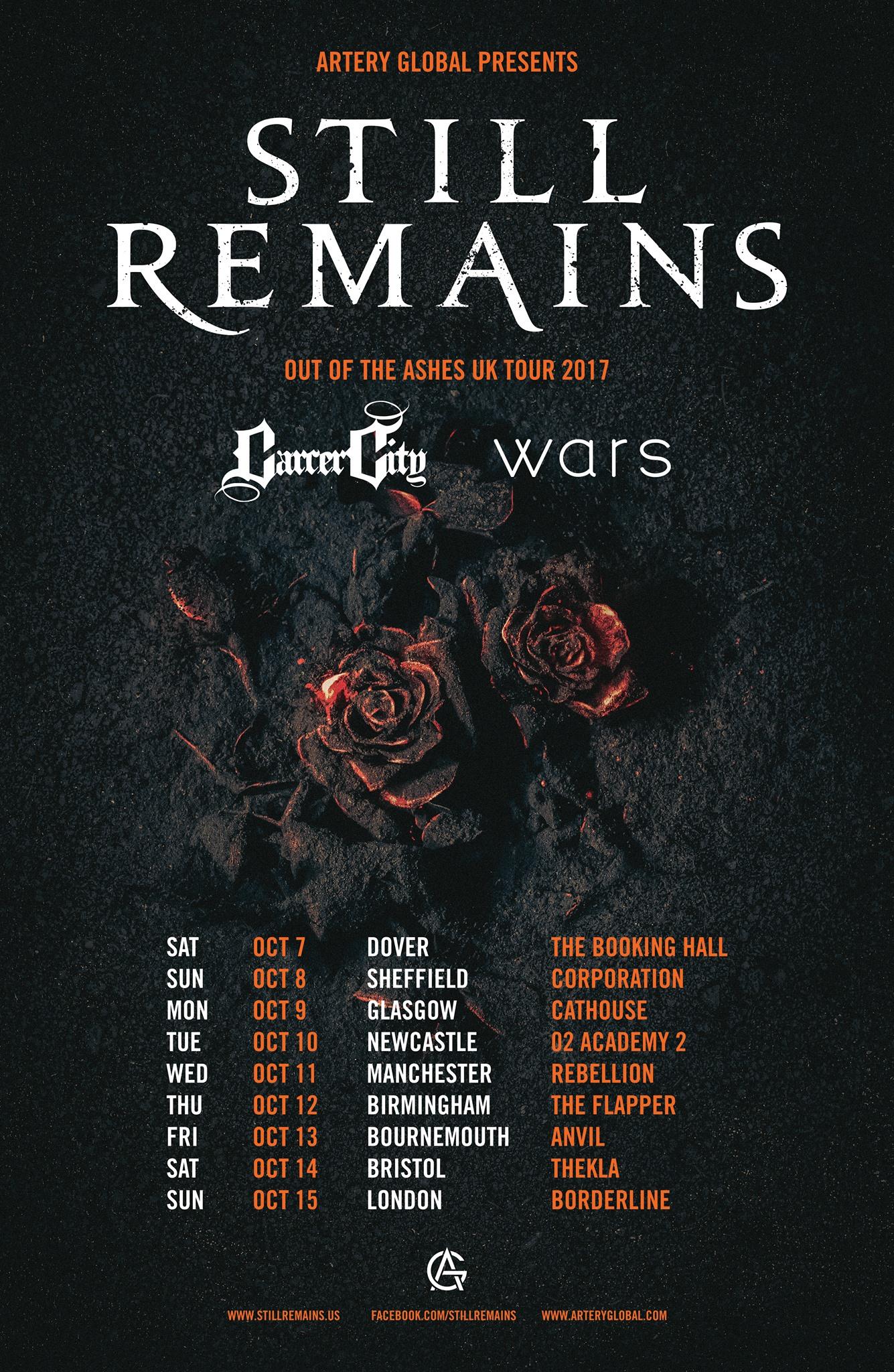UK Tour 2017